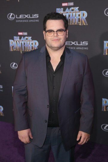 HOLLYWOOD, CA - JANUARY 29: Actor Josh Gad at the Los Angeles World Premiere of Marvel Studios' BLACK PANTHER at Dolby Theatre on January 29, 2018 in Hollywood, California. (Photo by Jesse Grant/Getty Images for Disney) *** Local Caption *** Josh Gad