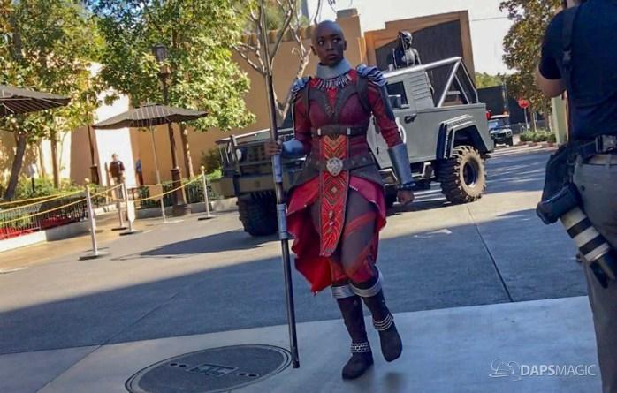 Black Panther Arrival at Disney California Adventure-1