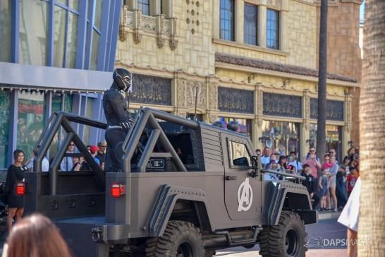 Black Panther Arrives at Disney California Adventure-5