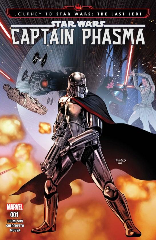 Journey to Star Wars_The Last Jedi - Captain Phasma (2017) #1