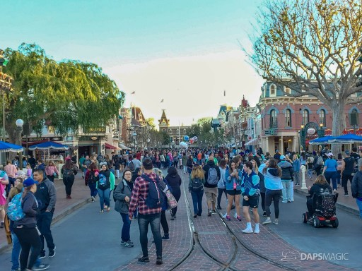 Walls Come Down on Main Street at Disneyland-4