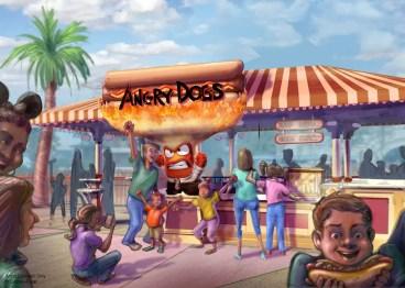 Angry Dogs - Pixar Pier