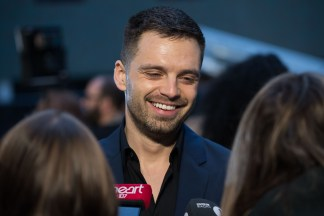 LONDON, ENGLAND - APRIL 08: Sebastian Stan attends the UK Fan Event to celebrate the release of Marvel Studios' 'Avengers: Infinity War' at The London Television Centre on April 8, 2018 in London, England. (Photo by Gareth Cattermole/Gareth Cattermole/Getty Images for Disney)