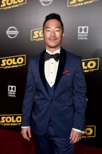 HOLLYWOOD, CA - MAY 10: Leonardo Nam attends the world premiere of ìSolo: A Star Wars Storyî in Hollywood on May 10, 2018. (Photo by Alberto E. Rodriguez/Getty Images for Disney) *** Local Caption *** Leonardo Nam