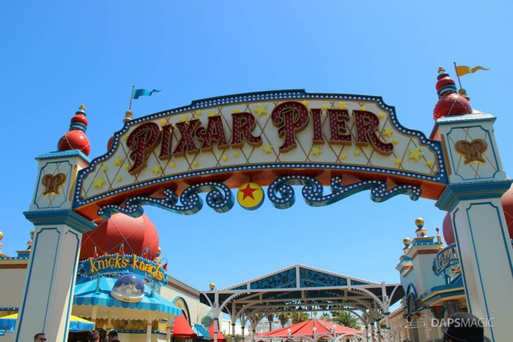 Pixar Pier Media Event - Outside-22
