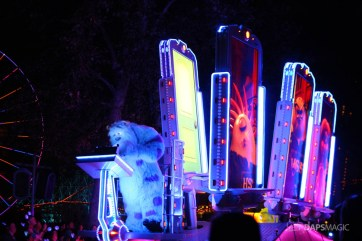 Pixar Pier Media Event - Paint the Night with Incredibles Float-14