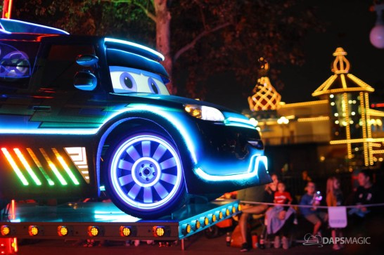 Pixar Pier Media Event - Paint the Night with Incredibles Float-22