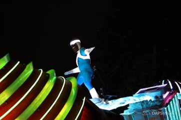 Pixar Pier Media Event - Paint the Night with Incredibles Float-57