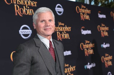 """Producer Brigham Taylor attends the world premiere of Disney's """"Christopher Robin"""" at the Main Theater on the Walt Disney Studios lot in Burbank, CA on July 30, 2018. (Photo: Alex J. Berliner/ABImages)"""