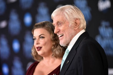 HOLLYWOOD, CA - NOVEMBER 29: Arlene Silver (L) and Actor Dick Van Dyke attend Disney's 'Mary Poppins Returns' World Premiere at the Dolby Theatre on November 29, 2018 in Hollywood, California. (Photo by Alberto E. Rodriguez/Getty Images for Disney) *** Local Caption *** Arlene Silver; Dick Van Dyke