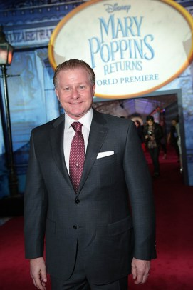 David Magee attends The World Premiere of Disney's Mary Poppins Returns at the Dolby Theatre in Hollywood, CA on Wednesday, November 29, 2018 (Photo: Alex J. Berliner/ABImages)