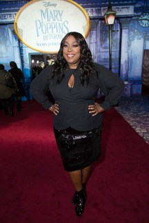 Loni Love attends The World Premiere of Disney's Mary Poppins Returns at the Dolby Theatre in Hollywood, CA on Wednesday, November 29, 2018 (Photo: Alex J. Berliner/ABImages)