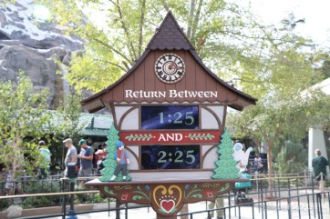 New Matterhorn Bobsleds Entrance and Queue at Disneyland-4