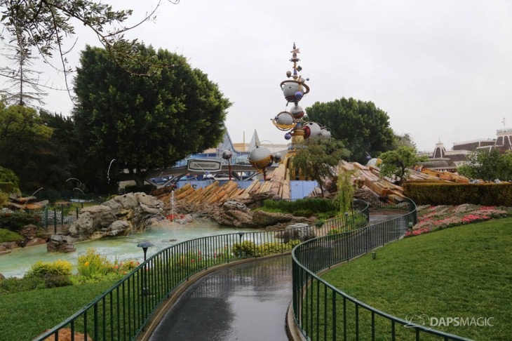 Rainy Day at the Disneyland Resort-27