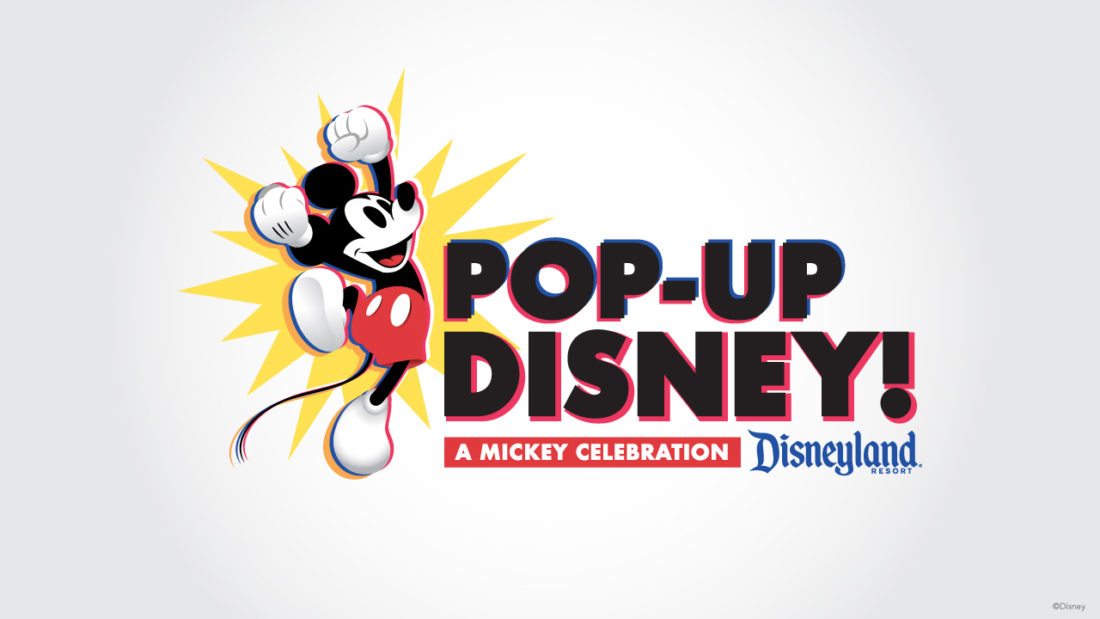 Pop-Up Disney! A Mickey Celebration Popping in to Downtown Disney this Spring