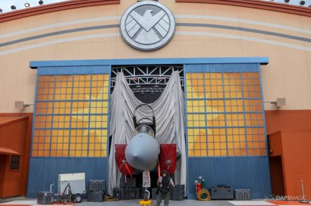 Captain Marvel Photo Location - Disney California Adventure