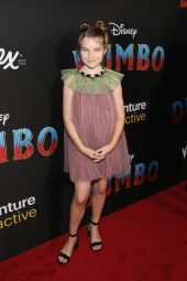 """LOS ANGELES, CA - MARCH 11: Raegan Revord attends the World Premiere of Disney's """"Dumbo"""" at the El Capitan Theatre on March 11, 2019 in Los Angeles, California. (Photo by Jesse Grant/Getty Images for Disney) *** Local Caption *** Raegan Revord"""