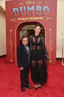 "LOS ANGELES, CA - MARCH 11: Deep Roy (L) and guest attend the World Premiere of Disney's ""Dumbo"" at the El Capitan Theatre on March 11, 2019 in Los Angeles, California. (Photo by Alberto E. Rodriguez/Getty Images for Disney) *** Local Caption *** Deep Roy"