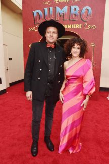 """LOS ANGELES, CA - MARCH 11: Win Butler (L) and Regine Chassagne of Arcade Fire attend the World Premiere of Disney's """"Dumbo"""" at the El Capitan Theatre on March 11, 2019 in Los Angeles, California. (Photo by Alberto E. Rodriguez/Getty Images for Disney) *** Local Caption *** Win Butler; Regine Chassagne"""