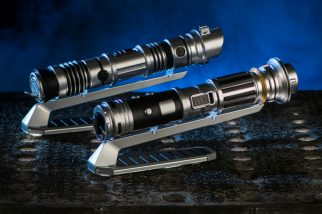 At Savi's Workshop - Handbuilt Lightsabers in Star Wars: GalaxyÕs Edge, guests will be able to build their own lightsaber, guided by ancient wisdom but crafted by the choices they make on their own adventure. Each build will begin with a personal connection to a kyber crystal used to ignite the custom lightsaber. Star Wars: GalaxyÕs Edge opens May 31, 2019, at Disneyland Resort in California and Aug. 29, 2019, at Walt Disney World Resort in Florida. (David Roark/Disney Parks)