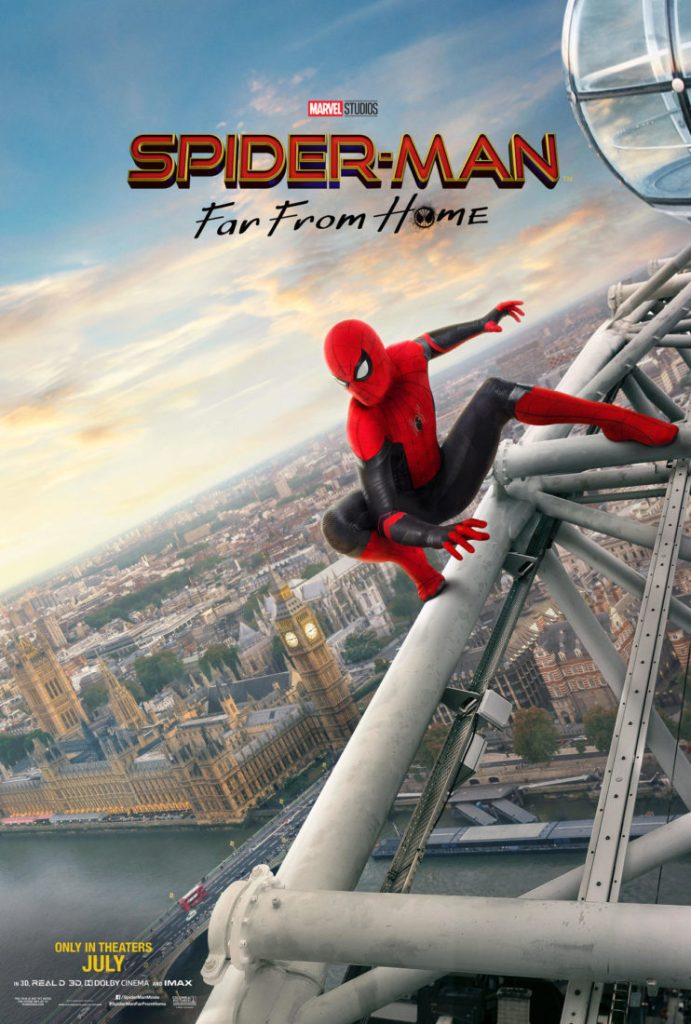 Spider-Man: Far From Home - London Poster