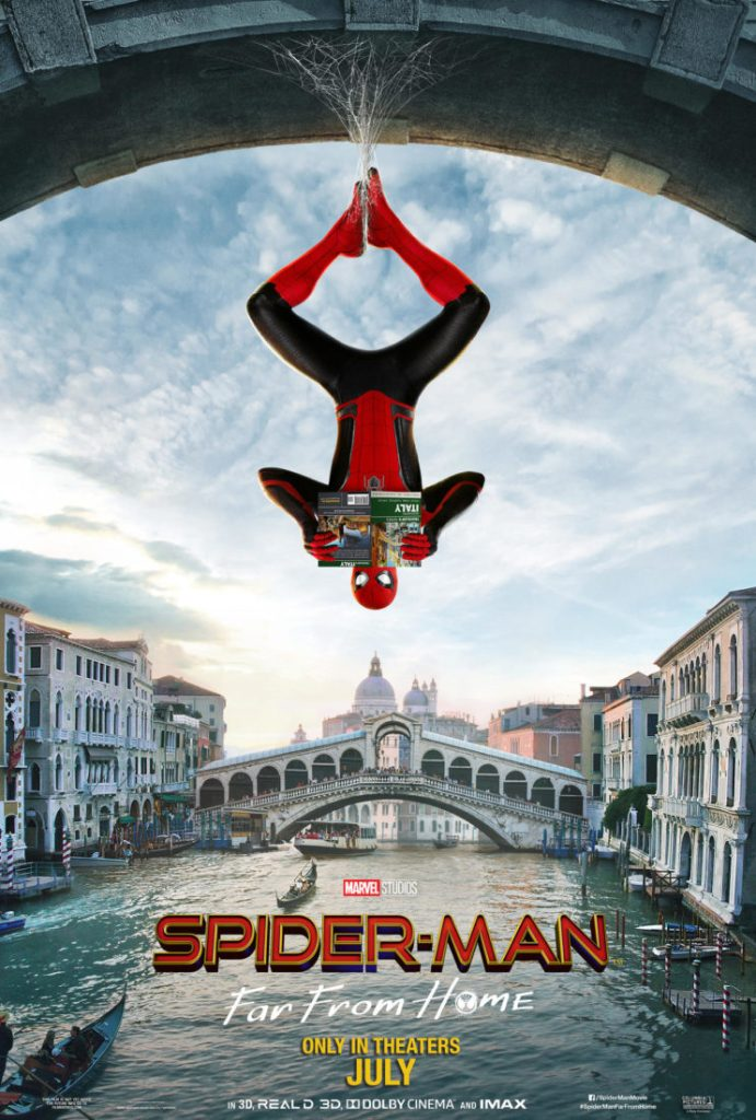 Spider-Man: Far From Home - Venice Poster