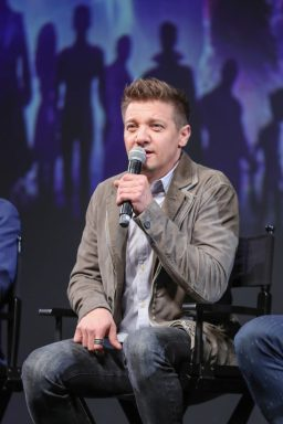 Global Tour Shanghai, China Press Conference Jeremy Renner