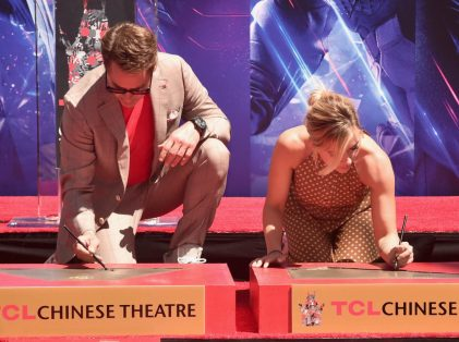 AVENGERS- ENDGAME Handprints at Chinese Theatre-9