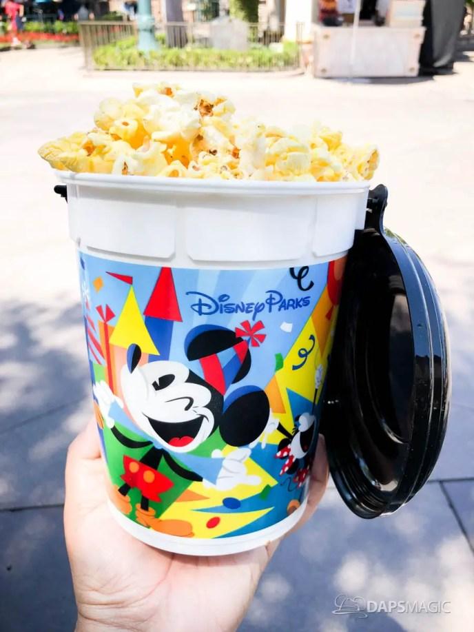 Disneyland Halloween Popcorn Bucket 2019.New Popcorn Bucket And Mug Celebrate Mickey At Disneyland