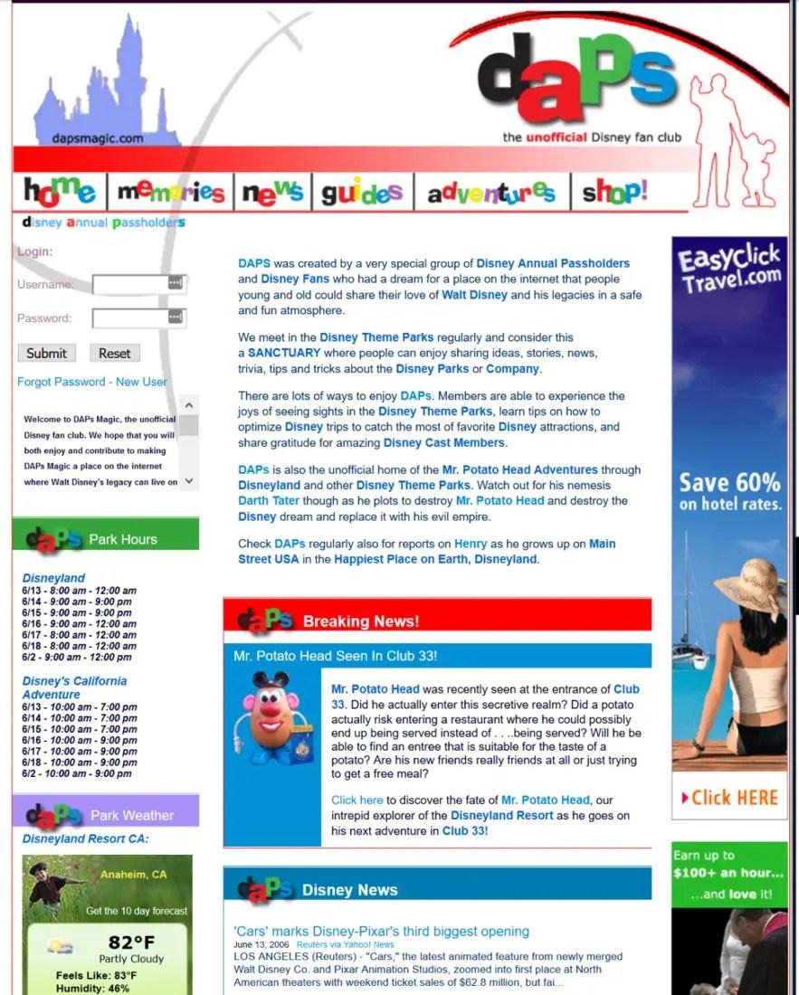 DAPS MAGIC Home Page