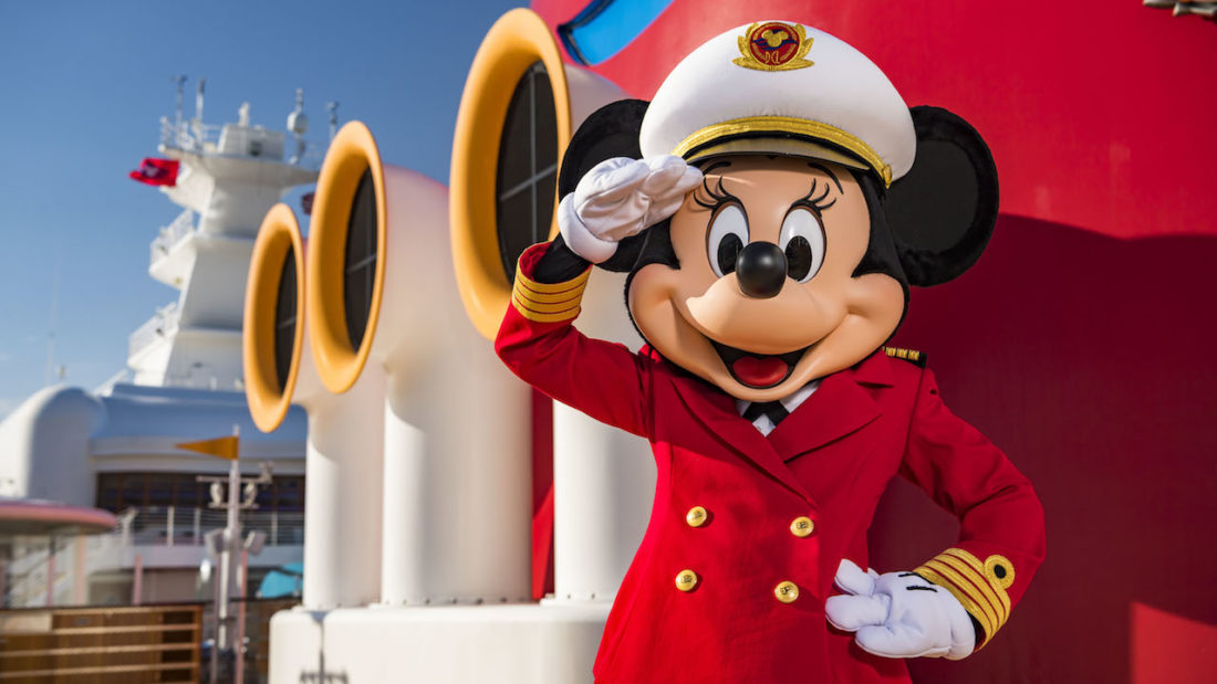 Captain Minnie Mouse comes to Disney Cruise Line to Inspire a New Generation of Sailors