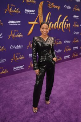 "LOS ANGELES, CA - MAY 21: Christina Milian attends the World Premiere of Disney's ""Aladdin"" at the El Capitan Theater in Hollywood CA on May 21, 2019, in the culmination of the film's Magic Carpet World Tour with stops in Paris, London, Berlin, Tokyo, Mexico City and Amman, Jordan. (Photo by Jesse Grant/Getty Images for Disney) *** Local Caption *** Christina Milian"