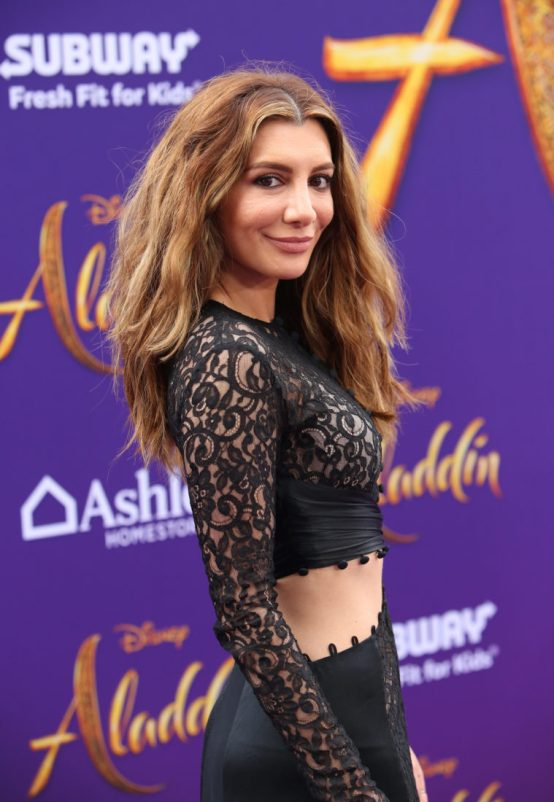 "LOS ANGELES, CA - MAY 21: Nasim Pedrad attends the World Premiere of Disney's ""Aladdin"" at the El Capitan Theater in Hollywood CA on May 21, 2019, in the culmination of the film's Magic Carpet World Tour with stops in Paris, London, Berlin, Tokyo, Mexico City and Amman, Jordan. (Photo by Jesse Grant/Getty Images for Disney) *** Local Caption *** Nasim Pedrad"
