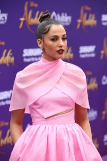 "LOS ANGELES, CA - MAY 21: Naomi Scott attends the World Premiere of Disney's ""Aladdin"" at the El Capitan Theater in Hollywood CA on May 21, 2019, in the culmination of the film's Magic Carpet World Tour with stops in Paris, London, Berlin, Tokyo, Mexico City and Amman, Jordan. (Photo by Jesse Grant/Getty Images for Disney) *** Local Caption *** Naomi Scott"