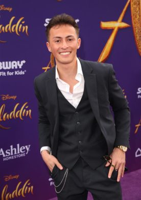 "LOS ANGELES, CA - MAY 21: Nicky Anderson attends the World Premiere of Disney's ""Aladdin"" at the El Capitan Theater in Hollywood CA on May 21, 2019, in the culmination of the film's Magic Carpet World Tour with stops in Paris, London, Berlin, Tokyo, Mexico City and Amman, Jordan. (Photo by Jesse Grant/Getty Images for Disney) *** Local Caption *** Nicky Anderson"