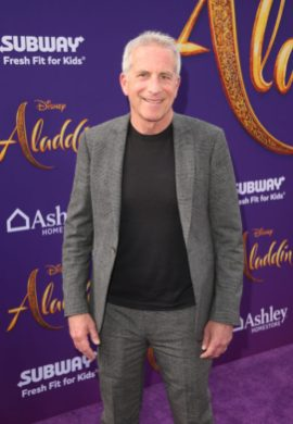 "LOS ANGELES, CA - MAY 21: Producer Marc Platt attends the World Premiere of Disney's ""Aladdin"" at the El Capitan Theater in Hollywood CA on May 21, 2019, in the culmination of the film's Magic Carpet World Tour with stops in Paris, London, Berlin, Tokyo, Mexico City and Amman, Jordan. (Photo by Jesse Grant/Getty Images for Disney) *** Local Caption *** Marc Platt"