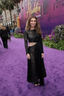 Nasim Pedrad attends the World Premiere of DisneyÕs Aladdin at the El Capitan Theater in Hollywood, CA on Tuesday, May 21, 2019, in the culmination of the filmÕs Magic Carpet World Tour with stops in Paris, London, Berlin, Tokyo, Mexico City and Amman, Jordan. (photo: Alex J. Berliner/ABImages)