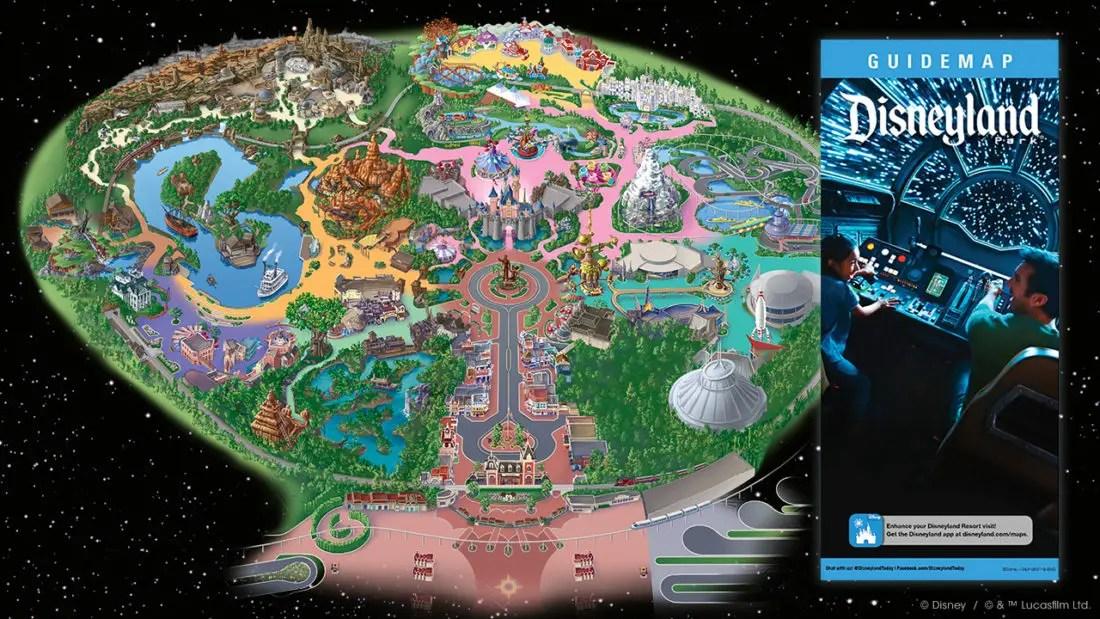Star Wars: Galaxy's Edge - Disneyland Map
