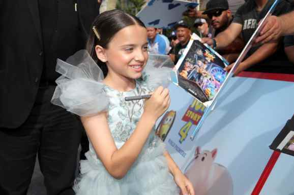 HOLLYWOOD, CA - JUNE 11: Madeleine McGraw attends the world premiere of Disney and Pixar's TOY STORY 4 at the El Capitan Theatre in Hollywood, CA on Tuesday, June 11, 2019. (Photo by Rich Polk/Getty Images for Disney) *** Local Caption *** Madeleine McGraw