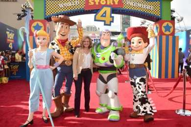 HOLLYWOOD, CA - JUNE 11: Bonnie Hunt attends the world premiere of Disney and Pixar's TOY STORY 4 at the El Capitan Theatre in Hollywood, CA on Tuesday, June 11, 2019. (Photo by Alberto E. Rodriguez/Getty Images for Disney) *** Local Caption *** Bonnie Hunt