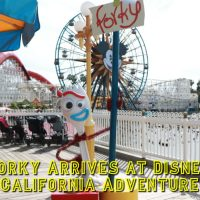Toy Story 4's Forky Arrives on Pixar Pier at Disney California Adventure