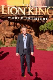 """HOLLYWOOD, CALIFORNIA - JULY 09: Screenwriter Jeff Nathanson attends the World Premiere of Disney's """"THE LION KING"""" at the Dolby Theatre on July 09, 2019 in Hollywood, California. (Photo by Alberto E. Rodriguez/Getty Images for Disney)"""