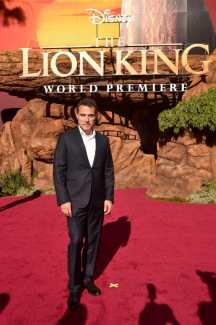 """HOLLYWOOD, CALIFORNIA - JULY 09: Rufus Sewell attends the World Premiere of Disney's """"THE LION KING"""" at the Dolby Theatre on July 09, 2019 in Hollywood, California. (Photo by Alberto E. Rodriguez/Getty Images for Disney)"""