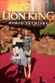 """HOLLYWOOD, CALIFORNIA - JULY 09: Zooey Deschanel and Emily Deschanel attend the World Premiere of Disney's """"THE LION KING"""" at the Dolby Theatre on July 09, 2019 in Hollywood, California. (Photo by Alberto E. Rodriguez/Getty Images for Disney)"""