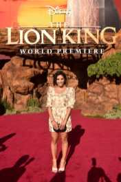"""HOLLYWOOD, CALIFORNIA - JULY 09: Tiffany Smith attends the World Premiere of Disney's """"THE LION KING"""" at the Dolby Theatre on July 09, 2019 in Hollywood, California. (Photo by Alberto E. Rodriguez/Getty Images for Disney)"""