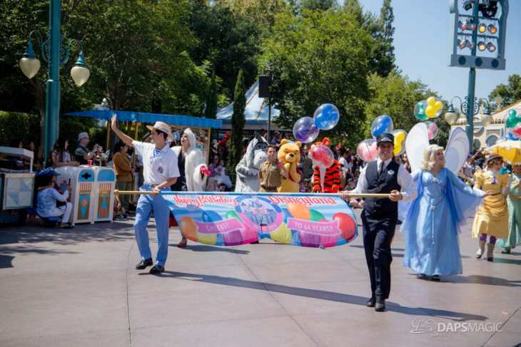 Disneyland 64th Birthday Cavalcade-1