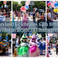 Disneyland Celebrates 64th Birthday With Cavalcade of Characters!