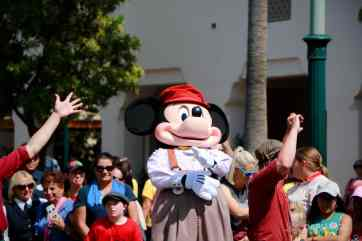 Final Performance Red Car Trolley News Boys at Disney California Adventure-17
