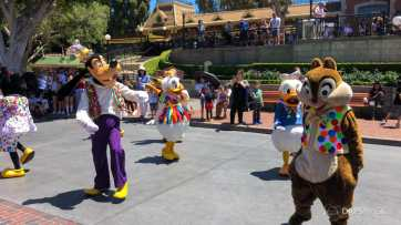 First Performance- Mickey and Friends Band-Tastic Cavalcade at Disneyland-12