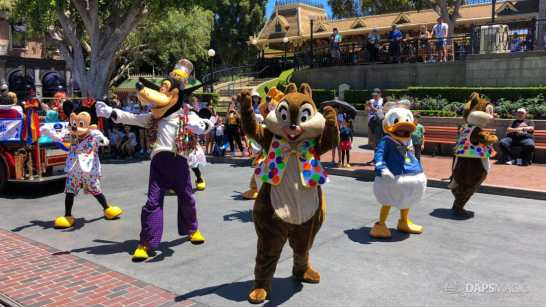 First Performance- Mickey and Friends Band-Tastic Cavalcade at Disneyland-17